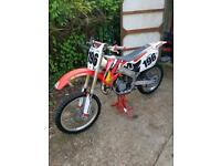 HONDA CR125 MOTOCROSS BIKE
