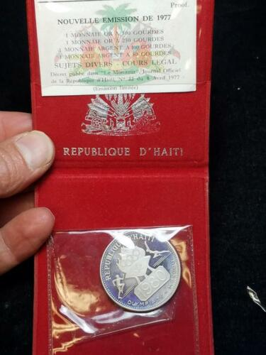 1980 Republic of Haiti 1980 Olympics 50 Gourdes 1977
