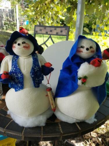 Vintage Annalee Snow Couple