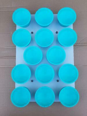 Univex Blue Rounding Cup For Dr14 Dough Divider Rounder Cutting 14 Portions