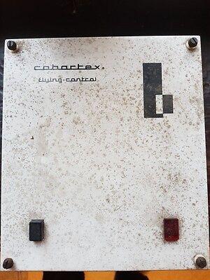 """ANCIEN BOITIER ELECTRONIQUE """"COBARTEX"""" + ACCESSOIRES"""