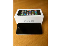 "Apple iPhone 5S, ""Space Gray"", 16GB on O2"