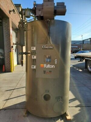 2013 Fulton 30hp Oil Boiler