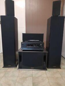 Onkyo amp and surround speakers
