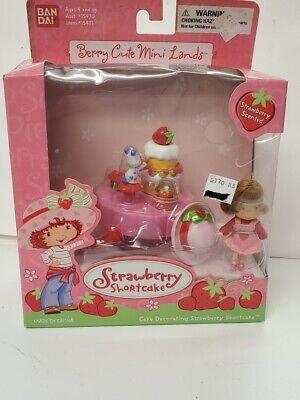 Bandai Cake Decorating Strawberry Shortcake Set 2003  15471 -