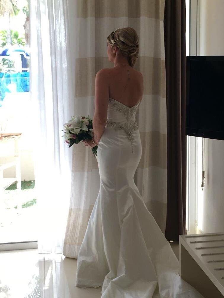 Fishtail wedding dress | in Barnstaple, Devon | Gumtree