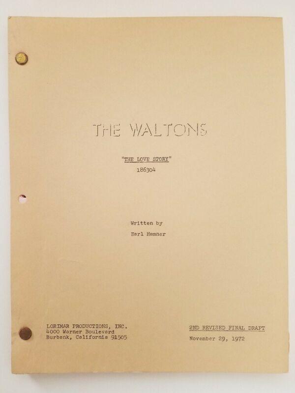 The Waltons / 1972 The Love Story Richard Thomas