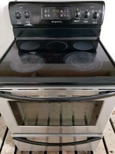 """Frigidaire 30"""" Wide Stainless Steel Ceramic Glass Top Stove, Free 30 Day Warranty, Save The Tax Event"""