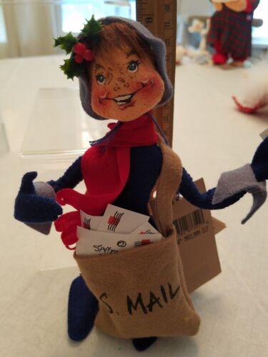 """Vintage Annalee North Pole Mail Elf 98"""""""