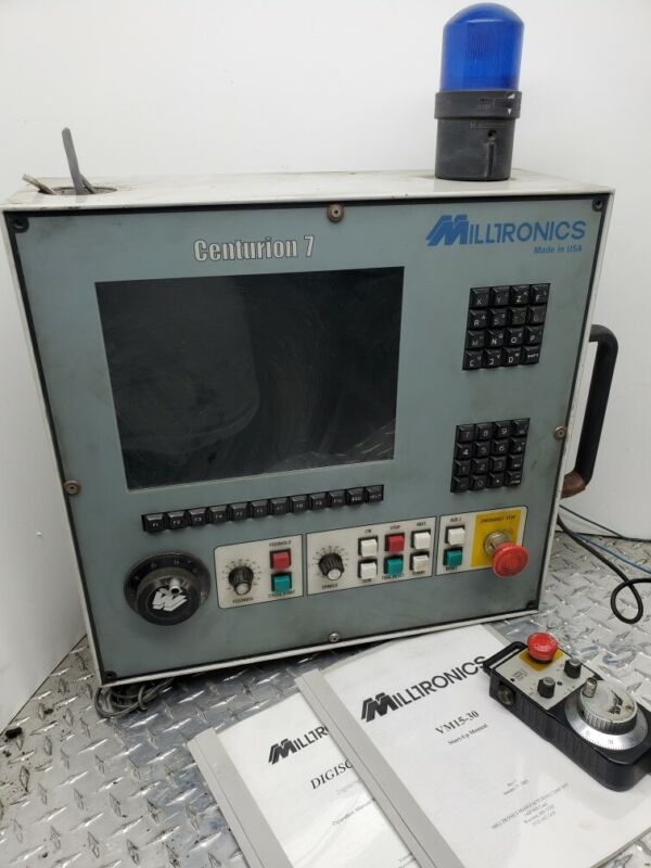 MILLTRONICS CENTURION 7 CNC MILLING MACHINE OPERATOR INTERFACE CONTROL PANEL A04