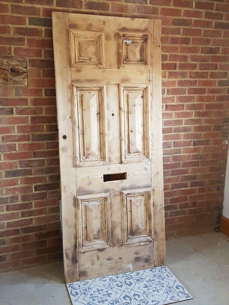 LARGE ORIGINAL PERIOD FRONT DOOR