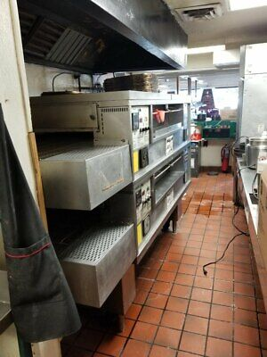 Used Middleby Marshall Ps570s Double Conveyor Pizza Oven Must Sell Fast