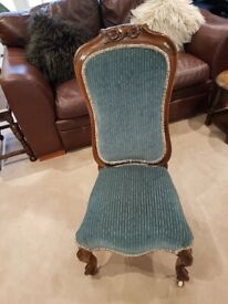 Lovely small Victorian Nursing chair