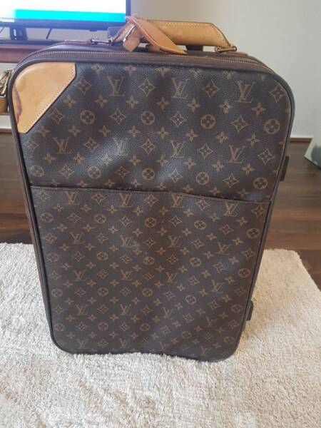 9bba27c7c741 Authentic Louis Vuitton Monogram Pegase 55 Travel Carry bag