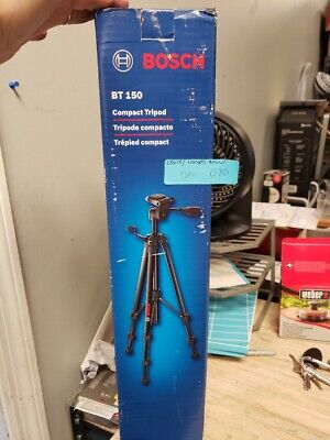Bosch BT150 Compact Extendable Tripod With Adjustable Legs BT 150(5M.070)