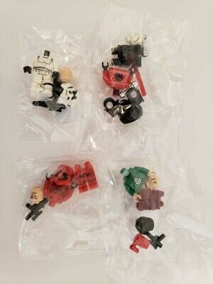 75279 Lego Minifigure Lot Darth Vader Poe D Sith Trooper Christmas Sweater