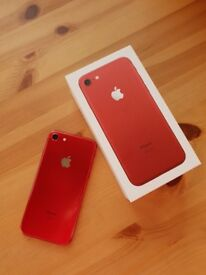 Apple IPhone 7 Red 128gb on Three