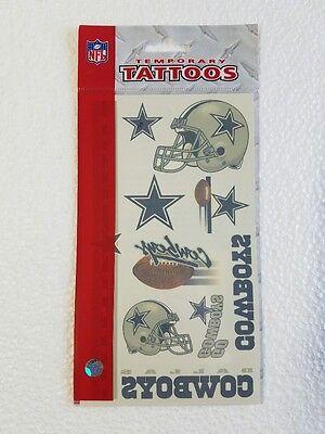 Dallas Cowboys Temporary Tattoos - Team Logo Colors Decals Tattoo - Cowboy Temporary Tattoos