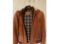 Ladies Next Leather Jacket Size 10