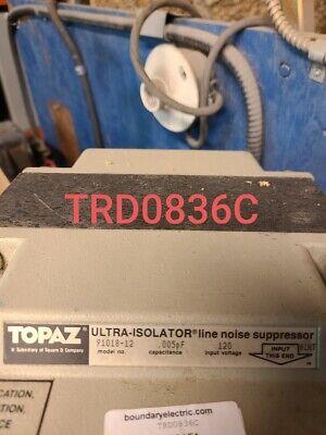 Topaz Ultra Isolator Part 91018-12  Tested Eok