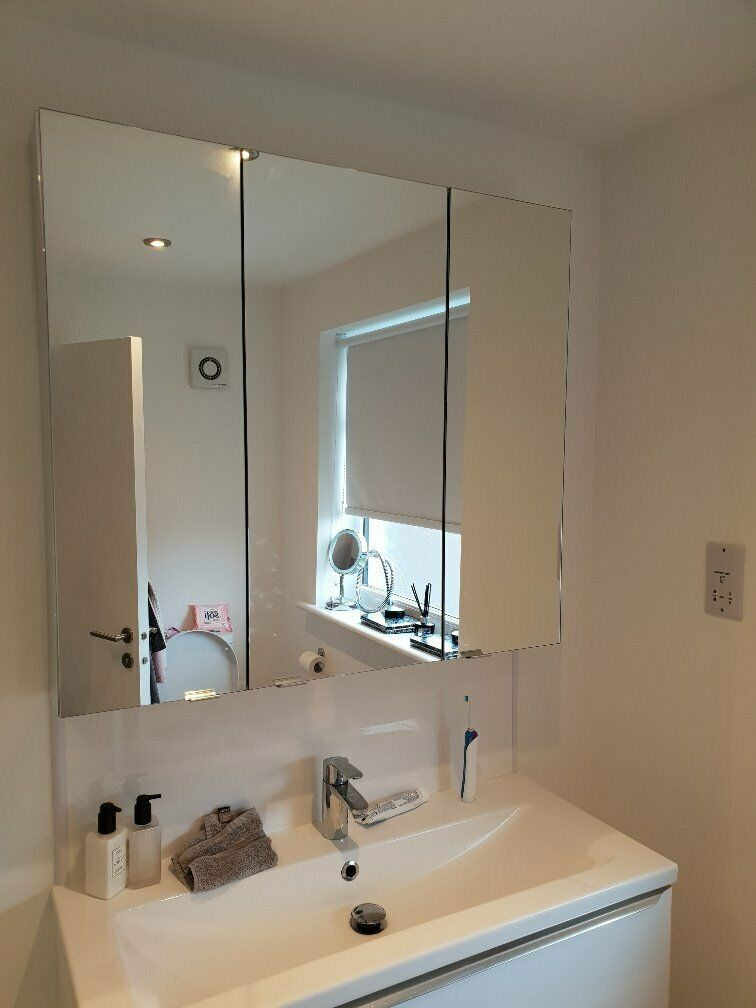 Mirrored 3 door bathroom cabinet by Cooke and Lewis | in ...