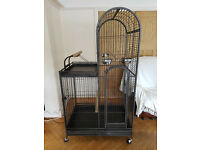 Very Large Dome Parrot Cage Fantastic Condition, Hardly Used, Spotless, Very Clean, Disinfected F10