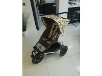 Mountain Buggy Urban Designer (limited edition) + Extras inc Buggy Board