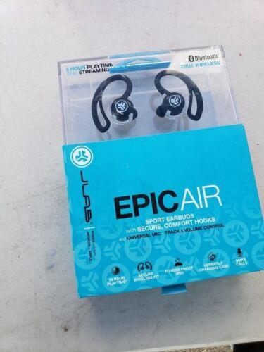 JLab Audio Epic Air Elite True Wireless Earbud Headphones Bl