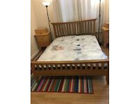 Beautiful New John Lewis £1,000 Oak King Bed, Brand New Mattress, Free Local Delivery