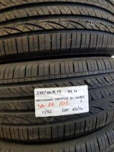 RITC ALL SEASON  DB  28 235/50R19   99H  USEDHANKOOK VENTUS S1 NOBLE11/32  4316  4 $800.00