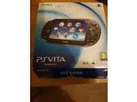 Selling PS VITA very good condition. Boxed and with £15 unused PSN voucher.
