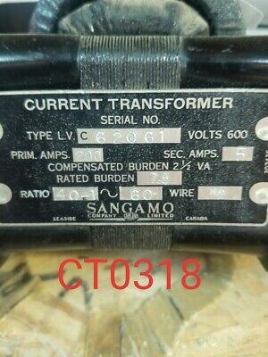 Sangamocurrent Transformer Ratio 401