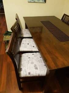 Side Buffet, matching Dining Table with 6 chairs Grange Charles Sturt Area Preview