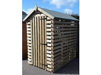 firewood and sheds