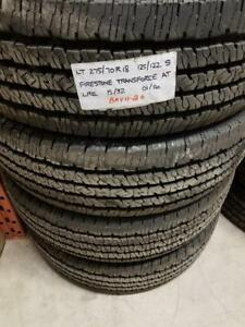 RITC TAKE OFF B11  24	LT275/70R18    125/122S	TAKEOFF	FSTN TRANSFORCE HT LRE	15/32	0116	4	$860.00