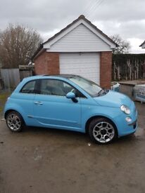 Fiat 500 Lounge 2011 (61) with low mileage, great condition