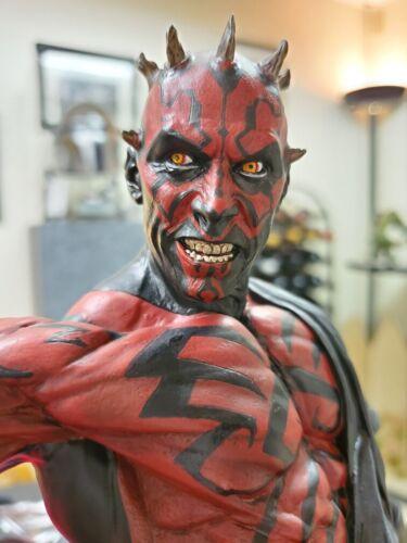 Star Wars Mythos Darth Maul Dark Disciple 1/5 Statue Sideshow 1st Version RARE!