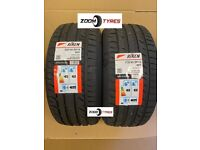 2 X TYRES RIKEN 225 40 18 Y RATED 92 EXTRA LOAD XL PERFORMANCE MADE BY MICHELIN TYRES