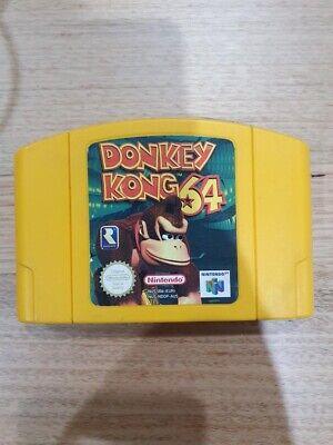 Donkey Kong 64 N64 Cartridge Nintendo 64 PAL *WORKING*