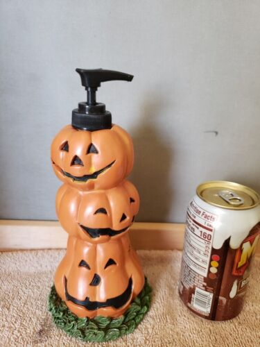 Jackolantern Halloween Resin Soap Lotion Dispenser ~  Free Shipping