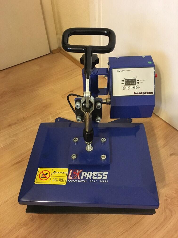 Uk Press Heat Press Ricoh Sg3110dn Printer Silhouette