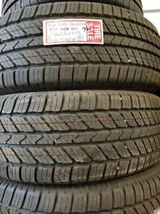 DB  5  265/65R17  110S TAKE OFF TOYO OPEN COUNTRY A3012/32  3416$700.00