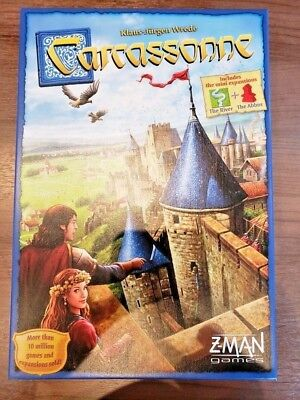 Carcassonne Board Game - Brand New Sealed- Free shipping
