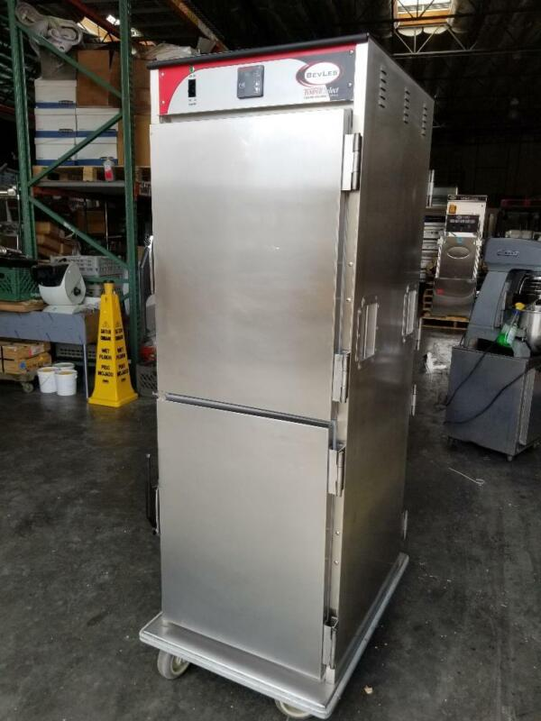 Bevles HTSD74P34 Full Size Convection Heated Warming Cabinet 120V test Live Pics