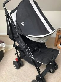 Maclaren Techno XT Stroller with Rain Cover FREE Cosy Toes /Footmuff