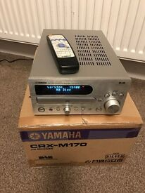 Yamaha CRX M170 CD/DAB Receiver & Cambridge Audio S30 Stand mount loud speakers