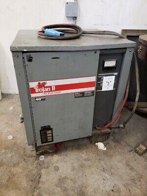 Trojan 2 48  Volt Battery Charger Forklift Charger Model 24t725c22