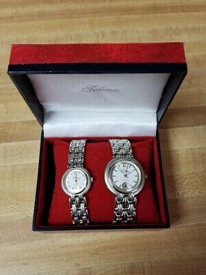 Lolina Men's and Women's Matching Wristwatches Working New Batteries 02-17-2020