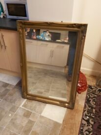 Large mirror 3ft long excellent condition £100 Ono.