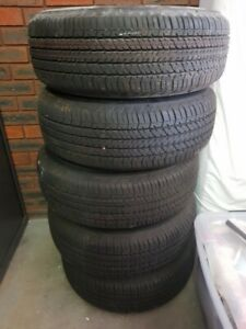 4 Brand new Ford ranger xls tires and rims 1 spare